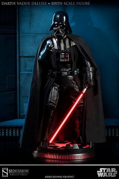 Sideshow Star Wars ROTJ Darth Vader Deluxe Sixth Scale Figure