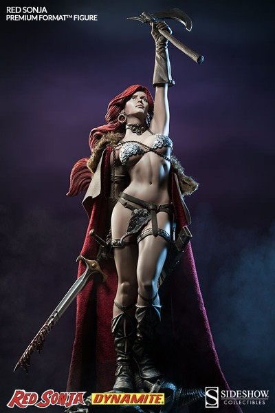 Sideshow Collectibles Red Sonja Victorious Premium Format Figure