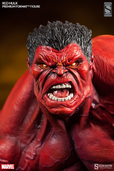 Sideshow Marvel Red Hulk Premium Format Figure Exclusive