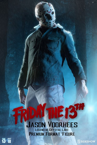 Preorder Sideshow Friday the 13th Part III Jason Premium Format