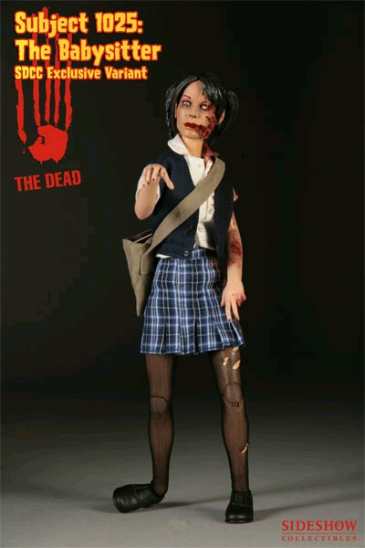 Sideshow Subject 1025 The Babysitter Zombie Figure Exclusive