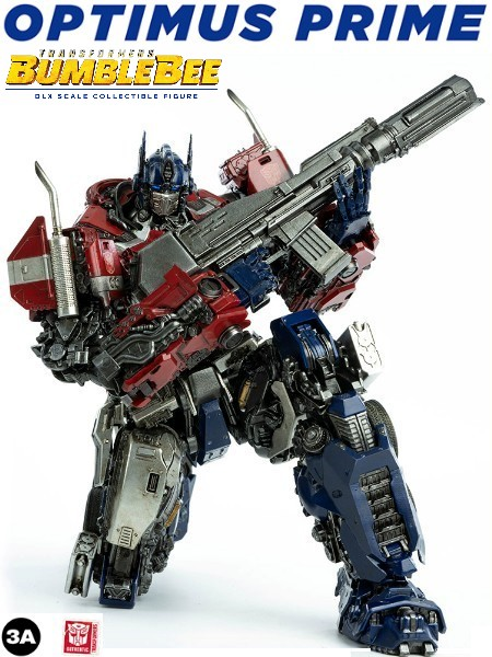 3A Transformers Bumblebee Movie Optimus Prime DLX Figure