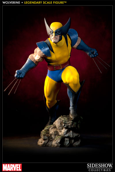 Sideshow Collectibles Marvel Wolverine Legendary Scale Figure