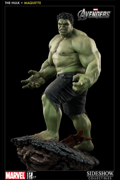 Sideshow Collectibles Marvel The Avengers Hulk Maquette