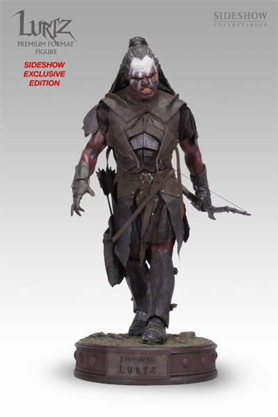 Sideshow The Lord of the Rings Lurtz Premium Format Exclusive