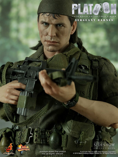 Preorder Hot Toys Platoon Sergeant Barnes Collectible Figure