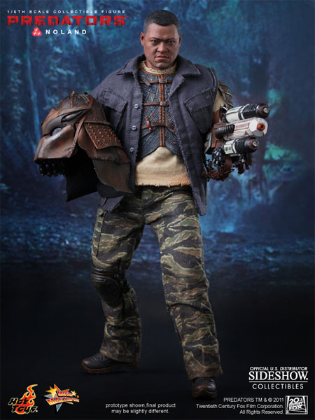 Hot Toys Predators Movie Noland Collectible Figure