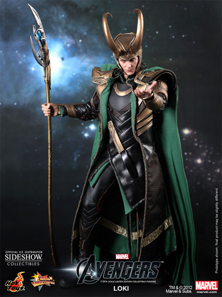 Preorder Hot Toys Marvel The Avengers Loki Sixth Scale Figure