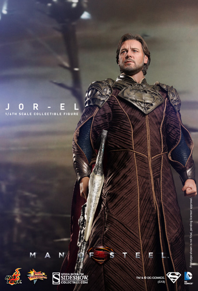 Hot Toys DC Comics Superman Man of Steel Jor-El Figure