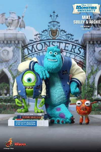 Hot Toys Disney Pixar Monsters University Mike and Sulley Set