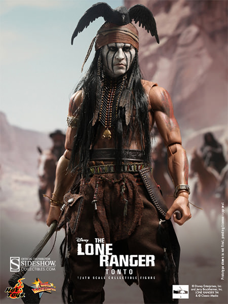 Hot Toys Disney The Lone Ranger Tonto Sixth Scale Figure