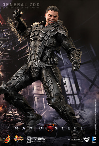 Hot Toys DC Superman Man of Steel General Zod Sixth Scale Figure