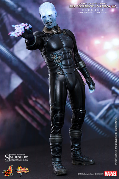 Preorder Hot Toys Marvel Amazing Spider-Man 2 Electro Figure