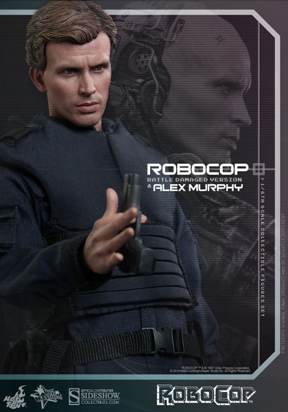 Preorder Hot Toys RoboCop Battle Damaged and Alex Murphy Set