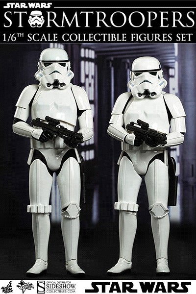 Preorder Hot Toys Star Wars Stormtrooper Sixth Scale Figure Set