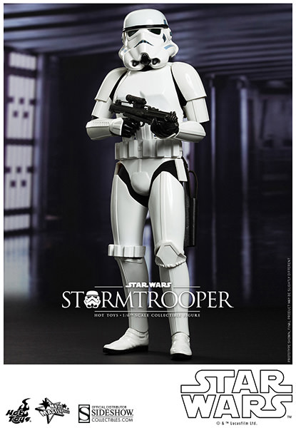 Preorder Hot Toys Star Wars Stormtrooper Sixth Scale Figure