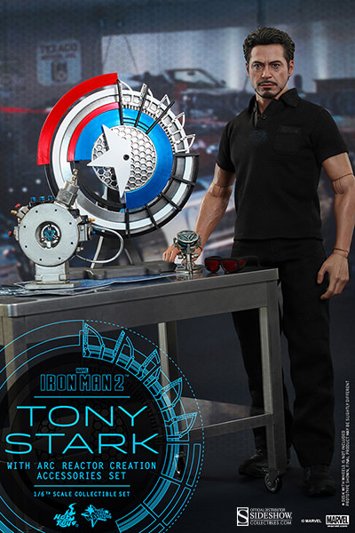 Preorder Hot Toys Marvel Iron Man 2 Tony Stark with Accessories
