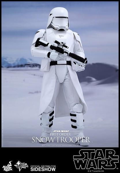 Hot Toys Star Wars First Order Snowtrooper Sixth Scale Figure