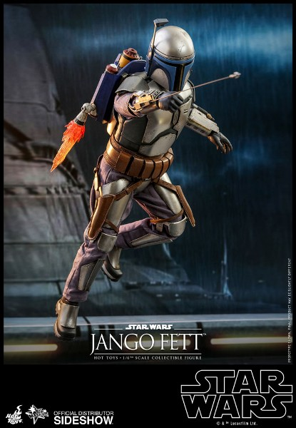 Preorder Hot Toys Star Wars AOTC Jango Fett Figure