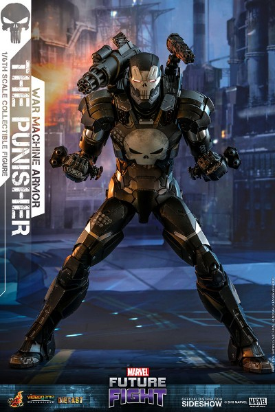 Preorder Hot Toys Marvel The Punisher War Machine Armor Figure