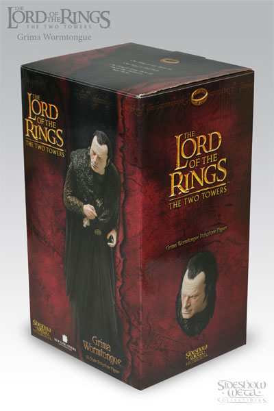 Sideshow Weta The Lord of the Rings Grima Wormtongue Statue