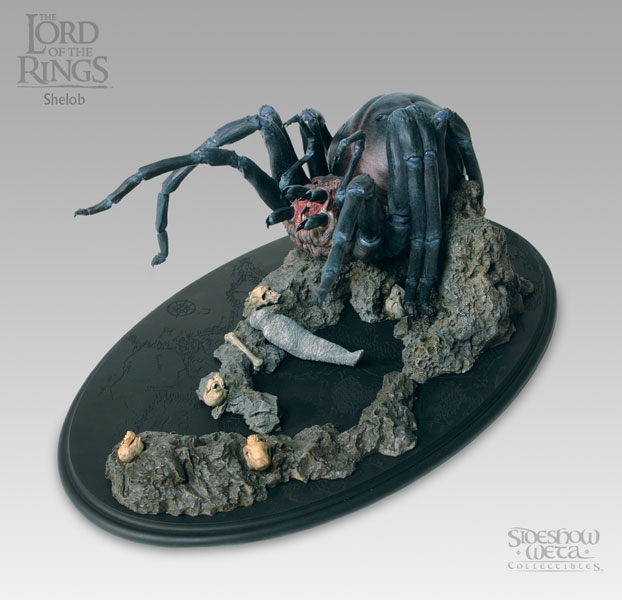 Sideshow Weta The Lord of the Rings Shelob Polystone Statue