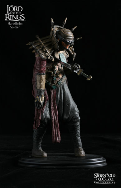 Sideshow Weta The Lord of the Rings Haradrim Soldier Statue
