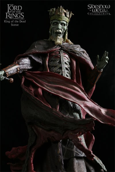 Sideshow Weta The Lord of the Rings The King of the Dead Statue
