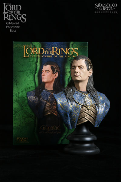 Sideshow Weta The Lord of the Rings Gil-Galad Mini Bust