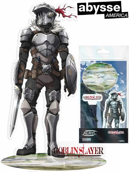 Abysse America Goblin Slayer - Goblin Slayer Acrylic 2D Figure