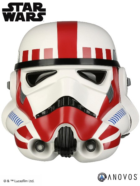 Anovos Star Wars Imperial Shock Trooper Helmet Accessory