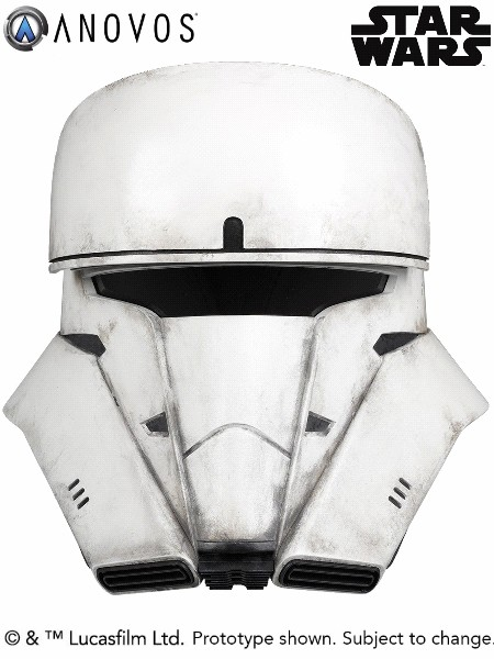 Anovos Star Wars Rogue One Imperial Tank Trooper Helmet