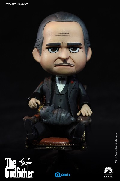 Asmus Toys The Godfather Don Vito Corleone QBitz Figure