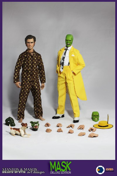 Stanton and Mason and Asmus Toys The Mask Deluxe Figure Set
