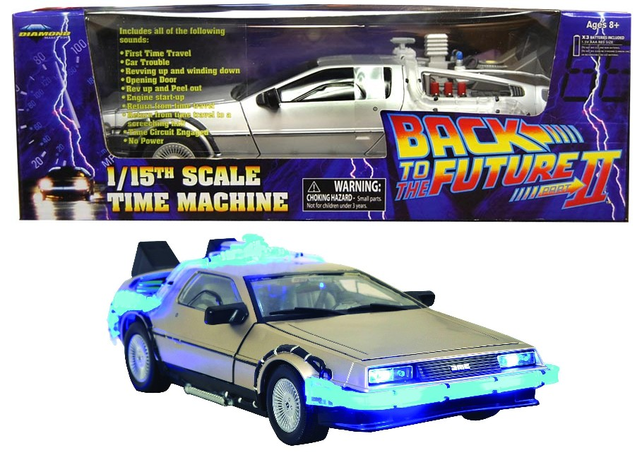 Diamond Select Back To The Future Delorean Mark I Car Replica
