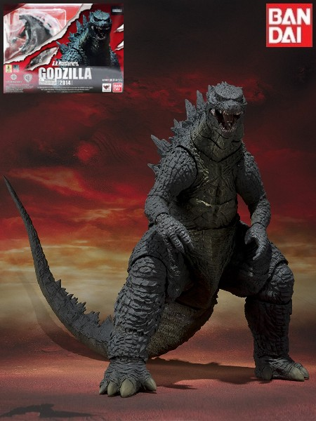 Bandai Tamashii Nations S.H. MonsterArts 2014 Godzilla Figure