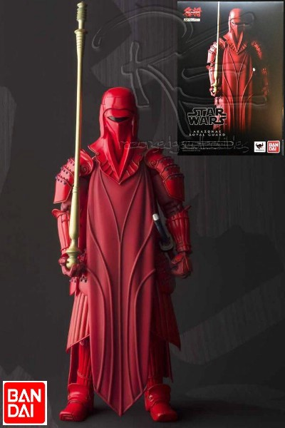 Bandai Star Wars Movie Realization Akazonae Royal Guard Figure