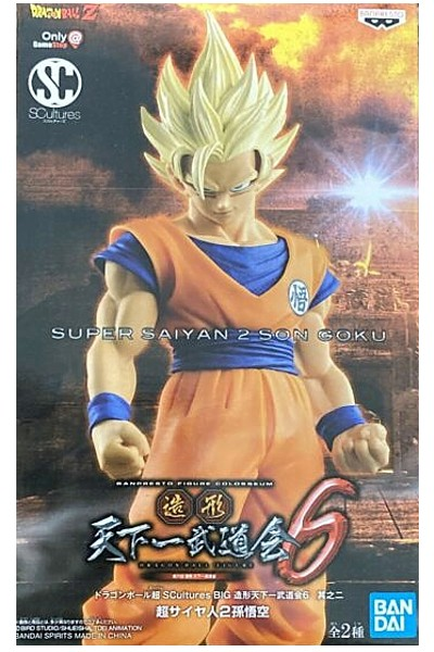 Banpresto Dragonball Z SCultures Figure Colosseum SS2 Son Goku