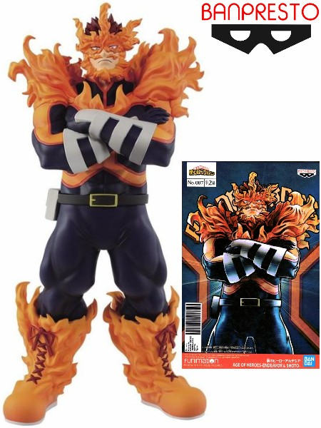 Banpresto My Hero Academia Age of Heroes Endeavor Figure