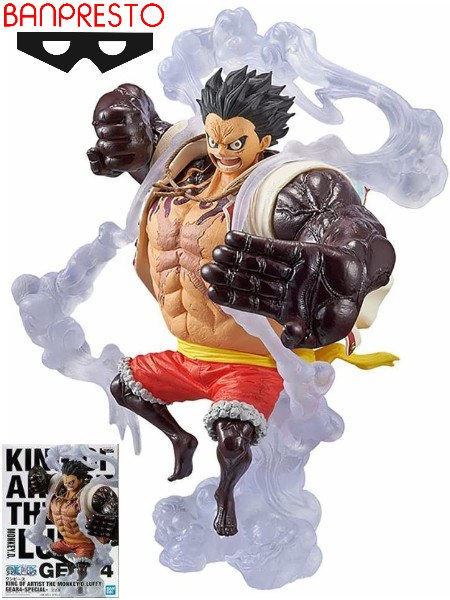 Banpresto One Piece King of Artist Luffy The Bound Man Figure