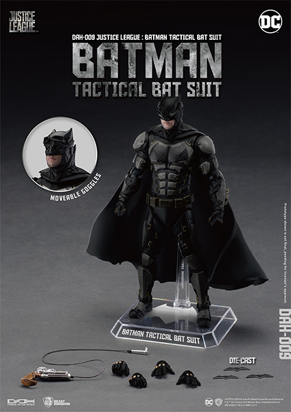 Beast Kingdom DAH-009 Batman Tactical Version Action Figure