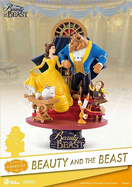 Beast Kingdom Disney Beauty and the Beast PVC Diorama