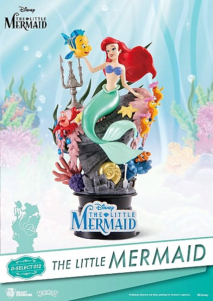 Beast Kingdom Disney The Little Mermaid PVC Diorama