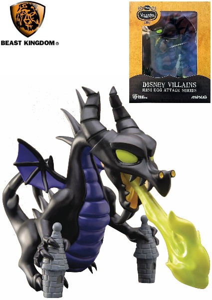 Beast Kingdom Disney Maleficent Dragon Mini Egg Attack Figure