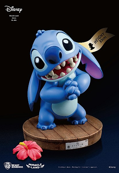 Beast Kingdom Disney Miracle Land Stitch Resin Statue