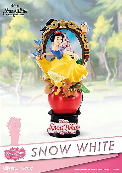 Beast Kingdom Disney Snow White PVC Diorama