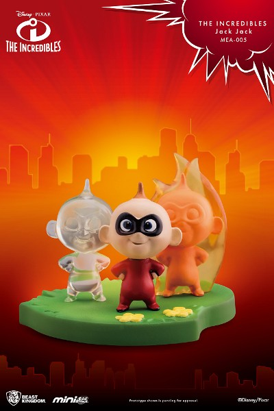 Beast Kingdom Pixar The Incredibles Jack Jack Mini Statue
