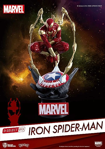 Beast Kingdom Marvel Avengers Infinity War Iron Spider-Man