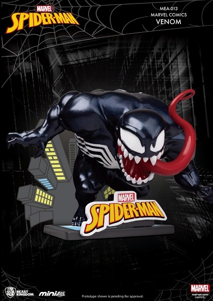 Beast Kingdom Marvel Mini Egg Attack Venom Figure