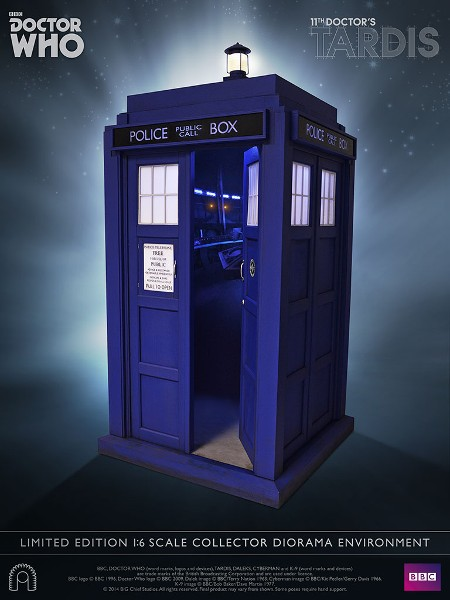 Big Chief Studios Doctor Who 11th Doctor Tardis Diorama